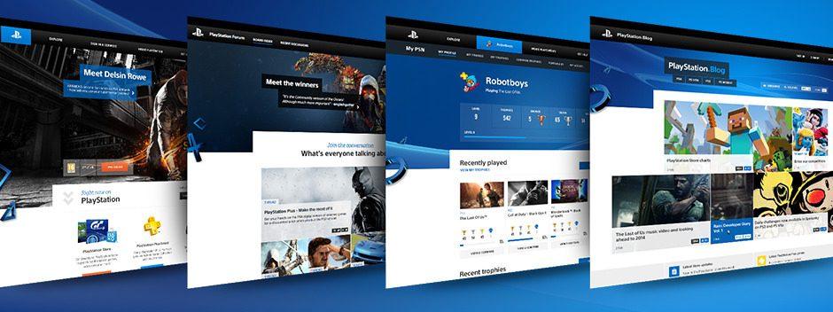 Découvrez le nouveau look des sites PlayStation