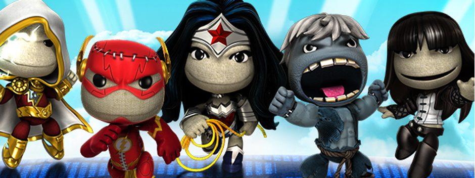 Mise à jour LittleBigPlanet : 5 nouveaux héros DC Comics dont le terrible Solomon Grundy !