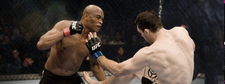Un combattant de l'UFC m'a mis une méchante droite, j'ai riposté avec △