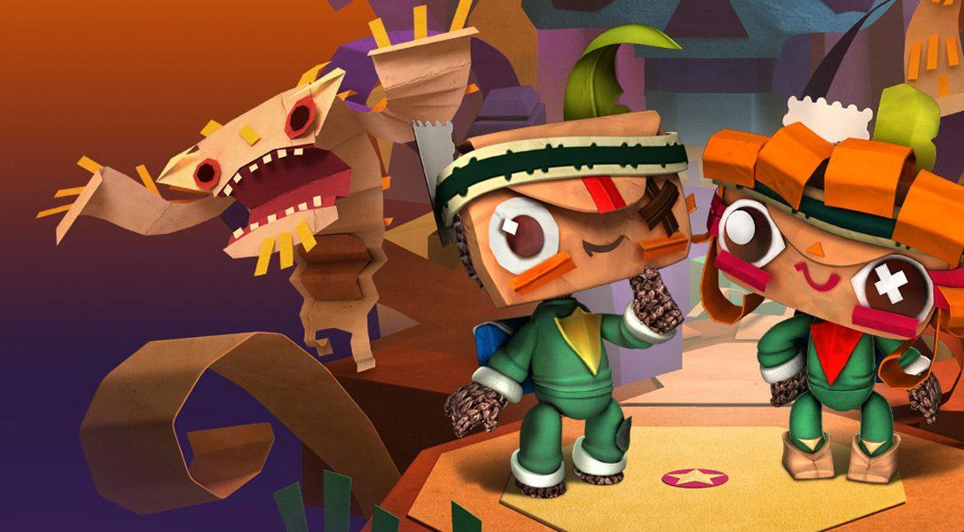 Mise à jour LittleBigPlanet : les héros de Tearaway débarquent !
