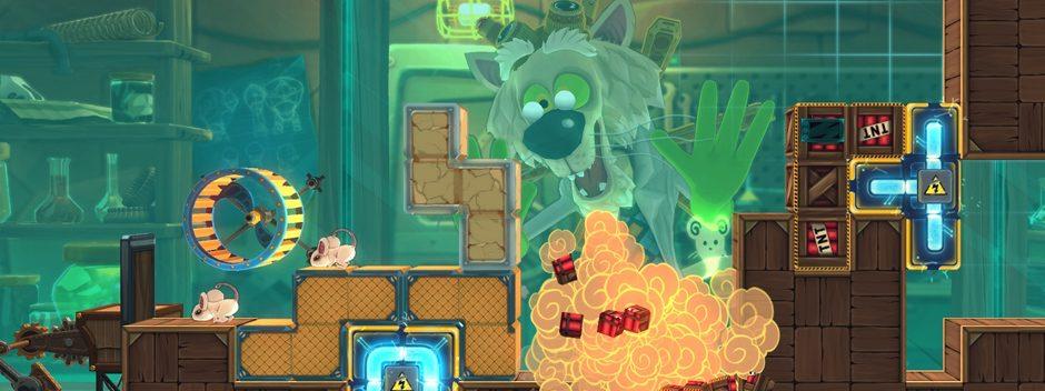 MouseCraft : le délirant mélange entre Tetris et des souris de laboratoire