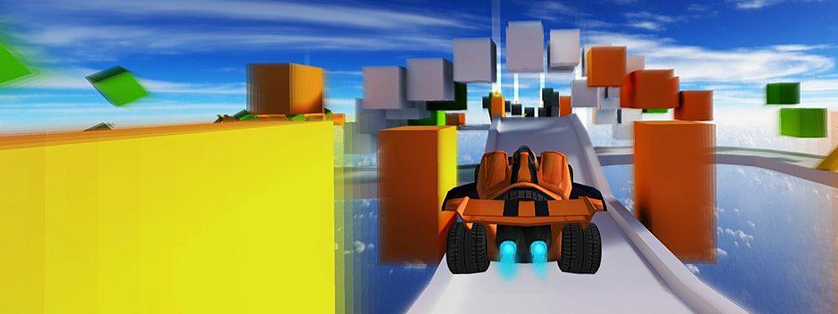 Des cascades qui défient la gravité à des kilomètres au-dessus du vide : le démentiel Jet Car Stunts arrive sur PlayStation