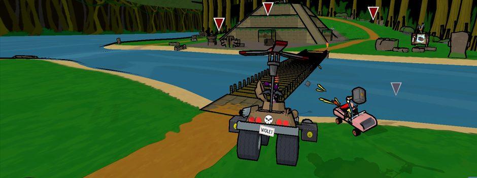 L'esprit de Crash Team Racing ressucité par le remake HD de Cel Damage