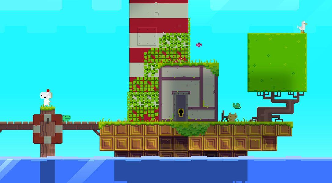 Plongez dans l'univers fantastique et multi-primé de FEZ sur PlayStation