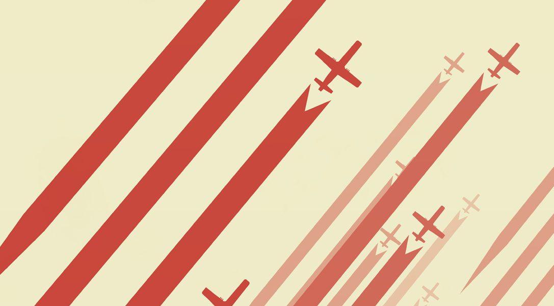 Luftrausers : guerre mondiale aérienne en pixels