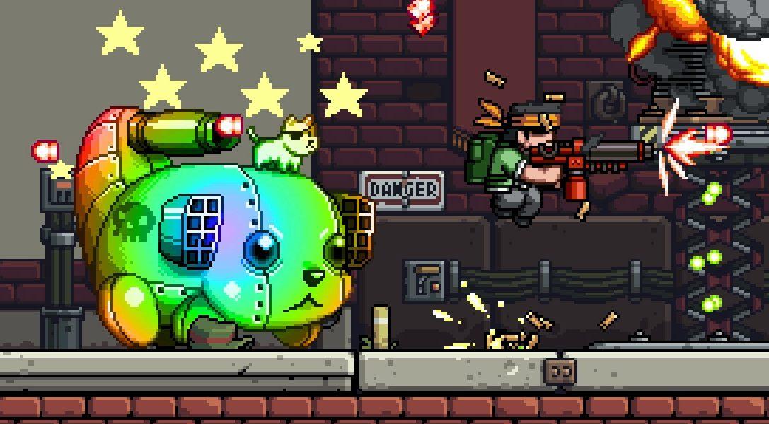 Mercenary Kings sur PS4 : créez enfin les armes dont vous avez toujours rêvé dans un jeu