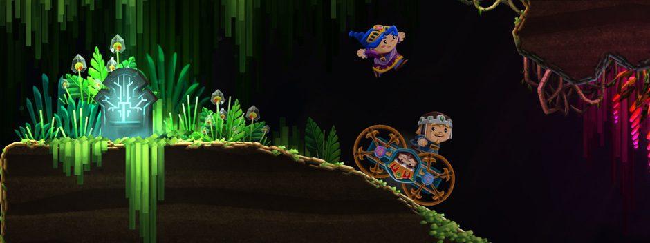 Chariot, un jeu d'aventure excentrique hanté par un fantôme