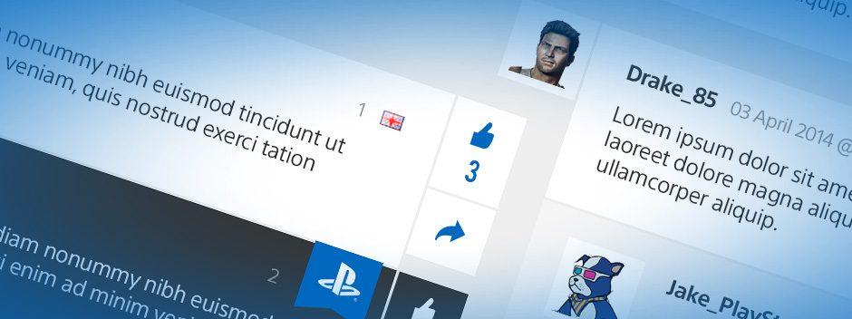 Nouvelle mise à jour du PlayStation Blog (avec une super surprise pour les plus bavards)