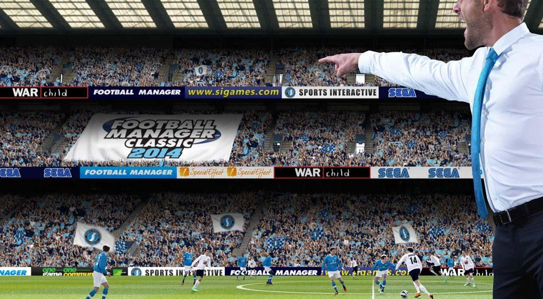 Football Manager Classic 2014 débarque enfin sur PS Vita, avec un nouveau trailer du moteur 3D