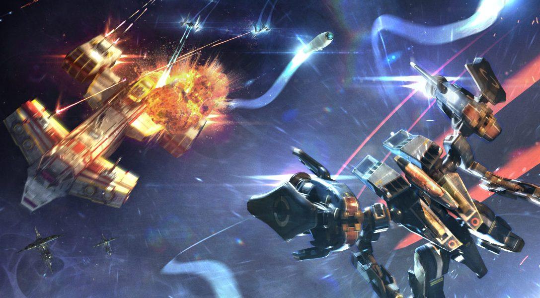 Une virée en armure dans l'espace : Strike Suit Zero: Director's Cut décolle demain sur PS4