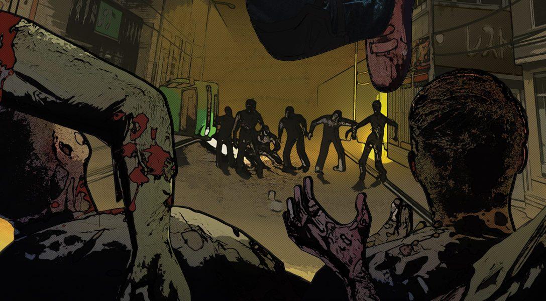 Un jeu où vous affrontez des légions de zombies avec une guitare, c'est possible !
