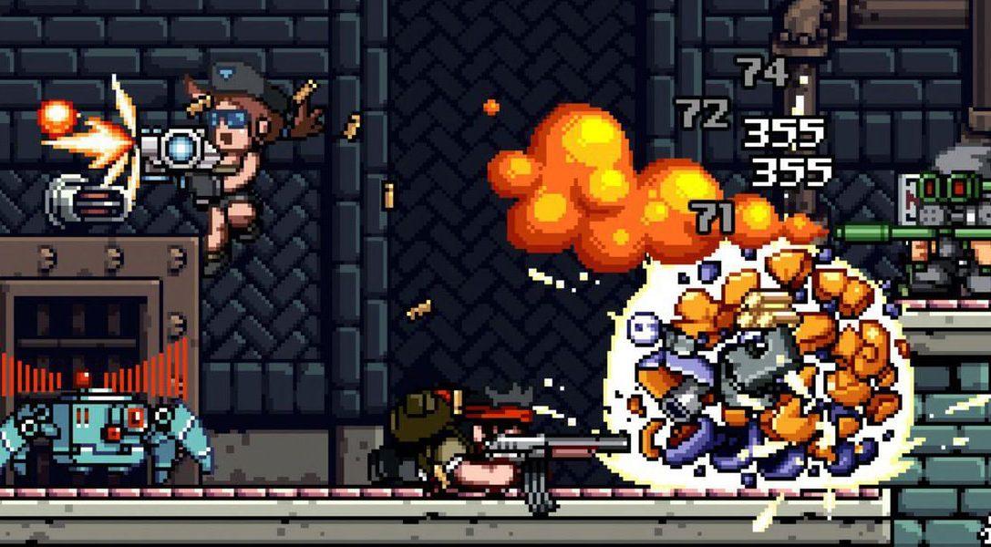 Mercenary Kings sort demain sur PS4 et sera gratuit pour tous les abonnés PS Plus