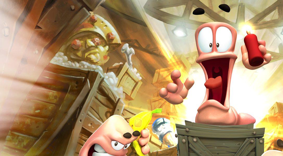 Worms Battlegrounds est disponible sur PS4, tout le fun des worms sur next gen