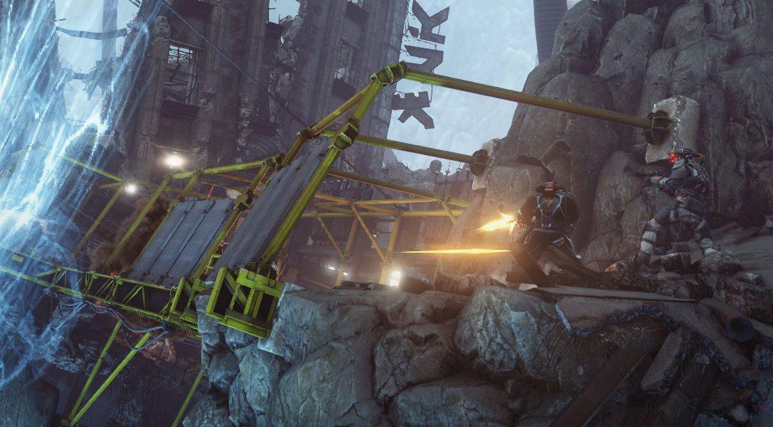 Une nouvelle map multijoueur pour Killzone Shadow Fall : défiez la gravité du Canyon