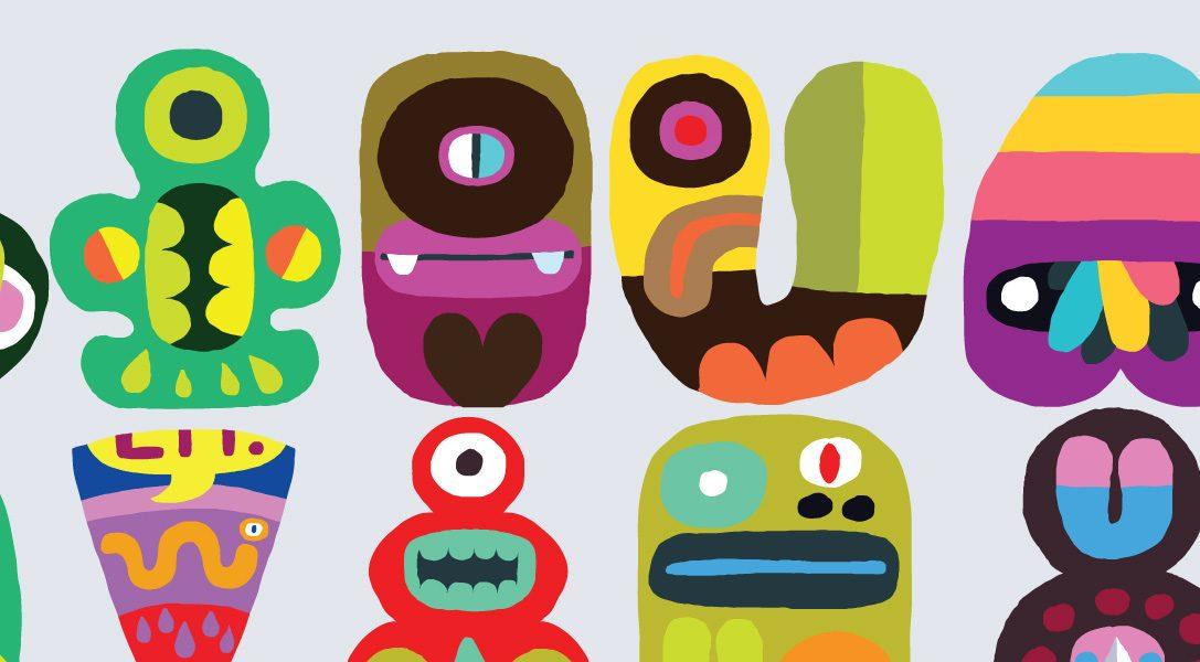 L'univers de Hohokum, un style graphique complètement halluciné (avec des arbres à hotdog)