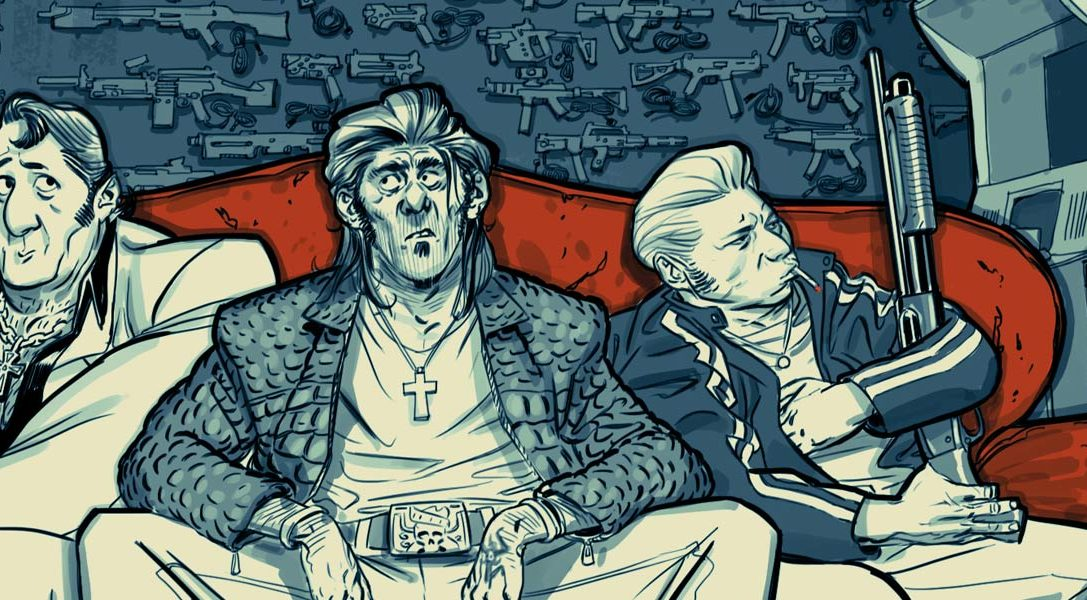 Dès demain, Blue Estate mettra dans le mille sur PS4.