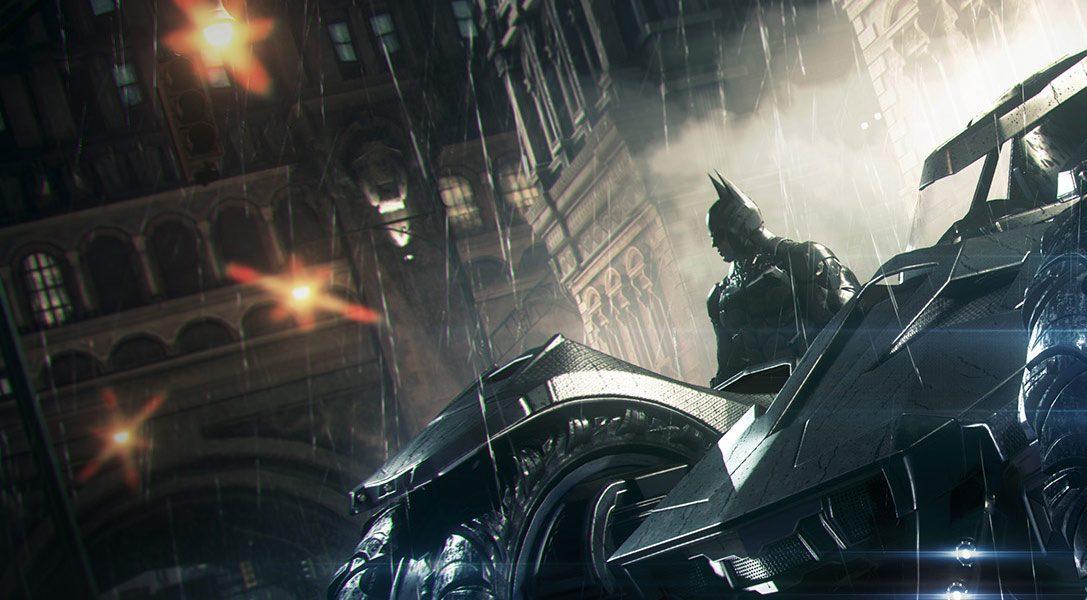 La batmobile d'Arkham Knight va modifier votre manière de jouer à Batman