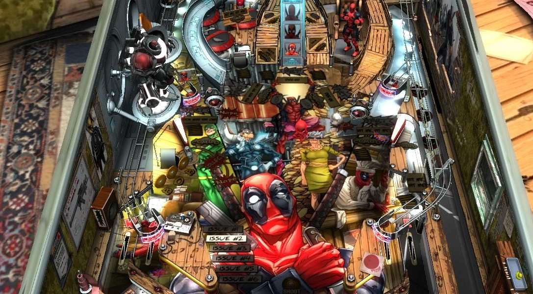 Deadpool bientôt disponible sur Zen Pinball 2