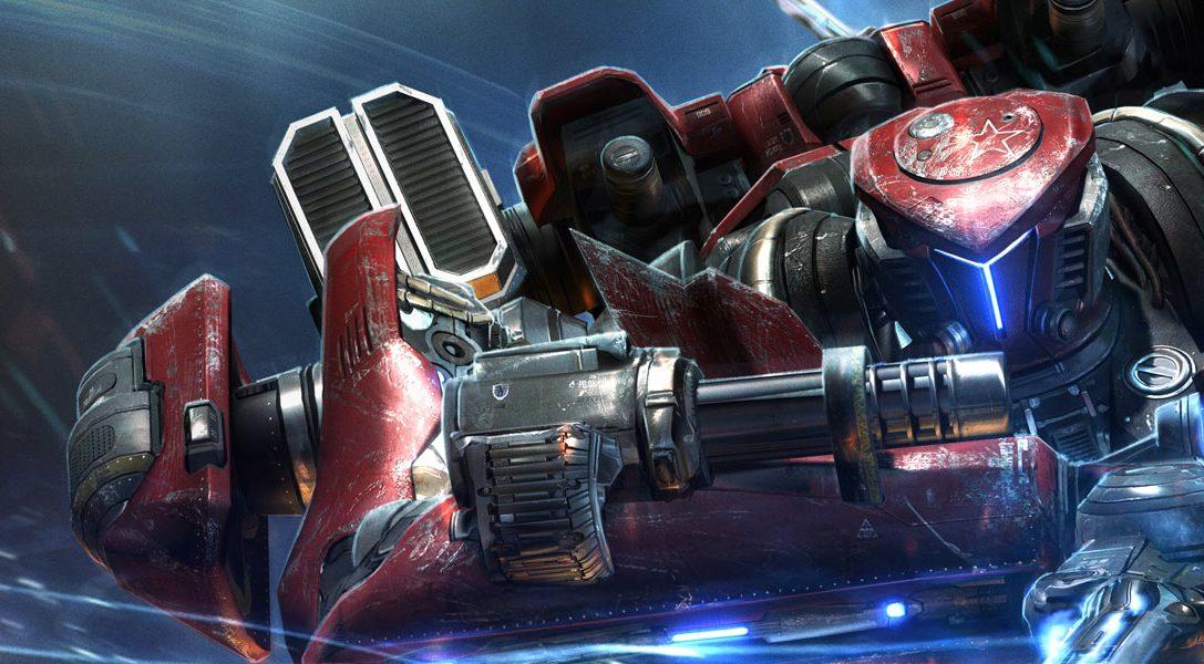MechRunner prévu sur PS4 et PS Vita cet été (avec un vrai robot géant)