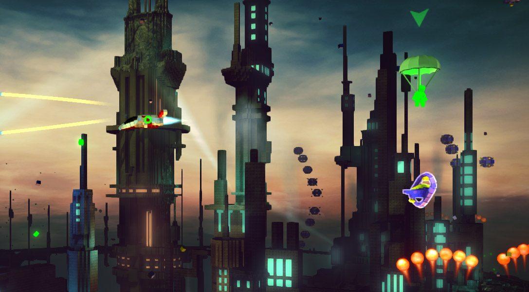Un futur DLC pour RESOGUN: Heroes