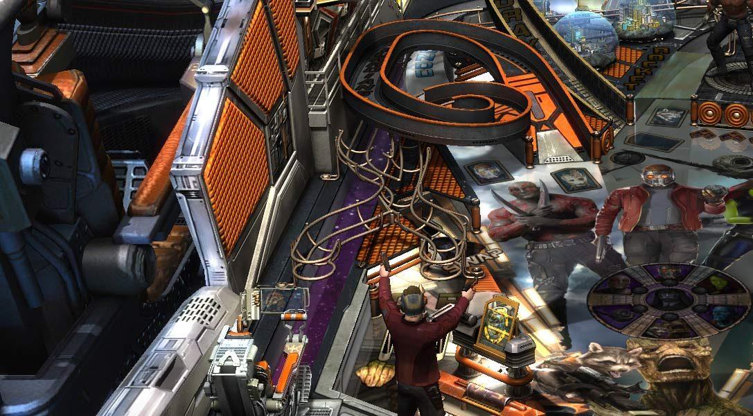 Les Gardiens de la Galaxie débarquent dans Zen Pinball 2