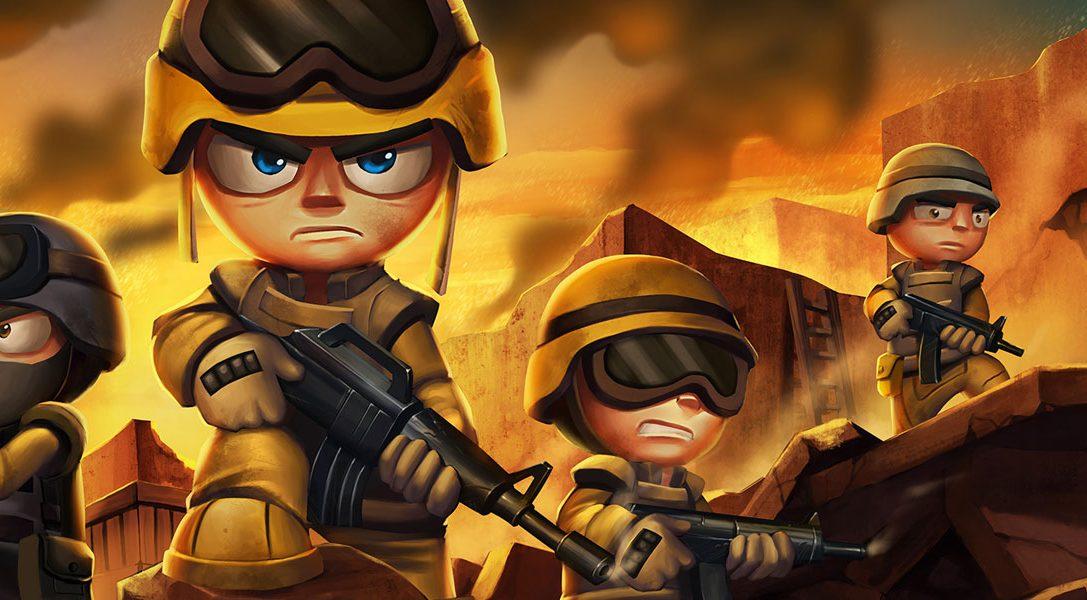 Tiny Troopers Joint Ops sort sur PS3, PS4 et PS Vita le mois prochain