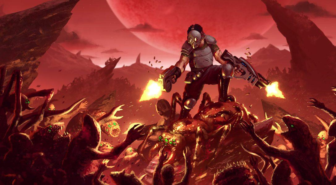 Le shooter de l'extrême Crimsonland prévu sur PS4 ce mois-ci