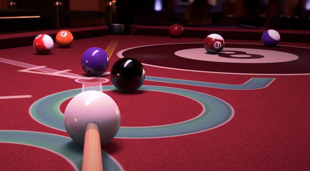 Pure Pool sort bille en tête sur PS4 dès demain
