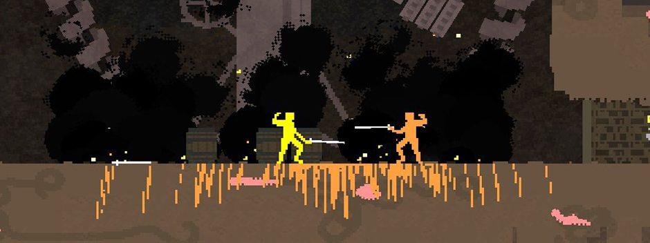 L'excellent jeu d'escrime Nidhogg sortira en Cross-Buy sur PS4 et PS Vita