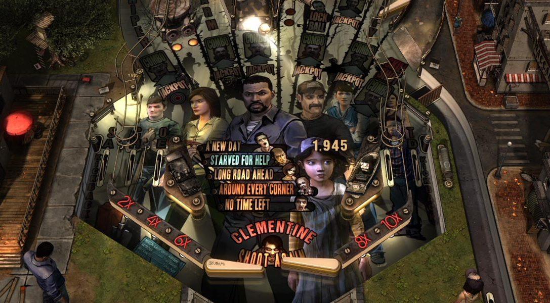 Une table unique The Walking Dead dans Zen Pinball 2 disponible cette semaine