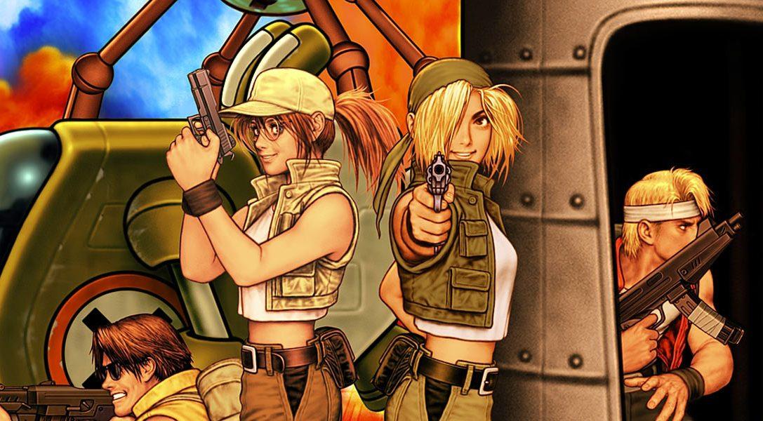 Metal Slug 3 prévu sur PS4, PS3 et PS Vita pour cet hiver