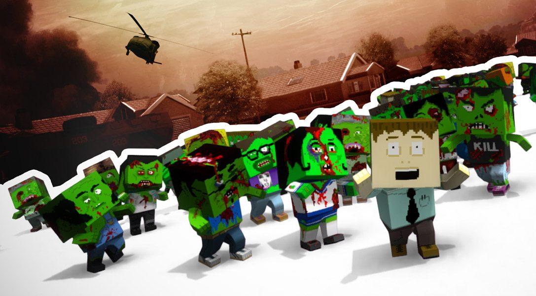 Affrontez les morts-vivants de The Hungry Horde sur PS Vita