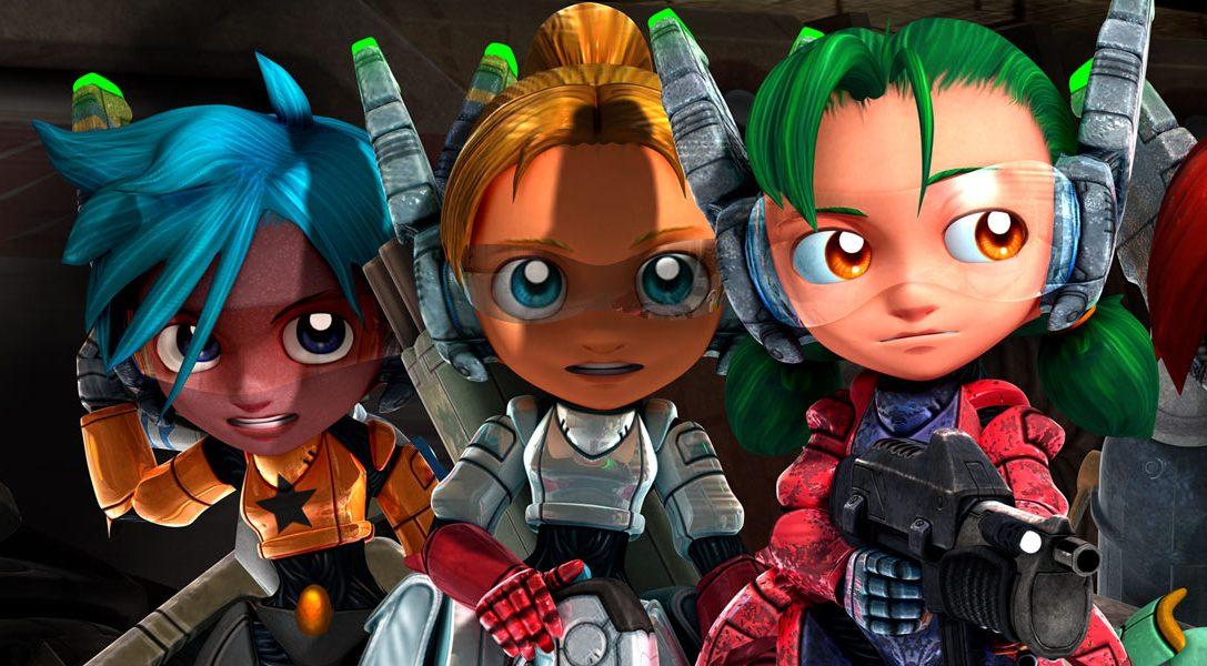 Assault Android Cactus : présentation des héros et de leur arsenal