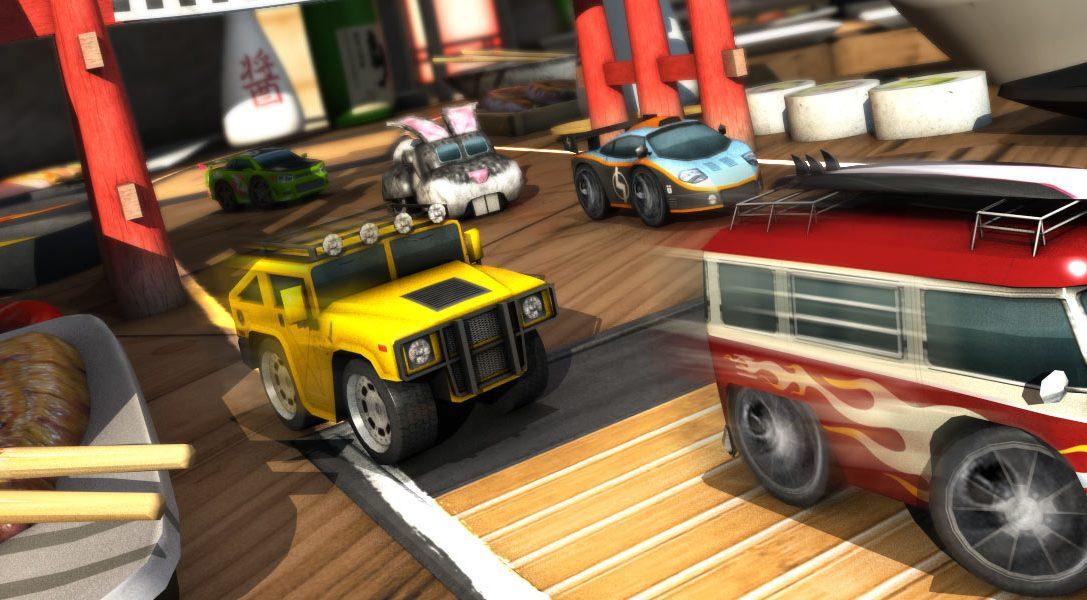 Table Top Racing sort demain sur PS Vita, découvrez le nouveau trailer