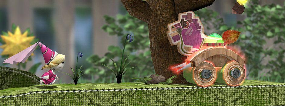 Run Sackboy! Run! un jeu de plates-formes prévu sur PS Vita et mobiles