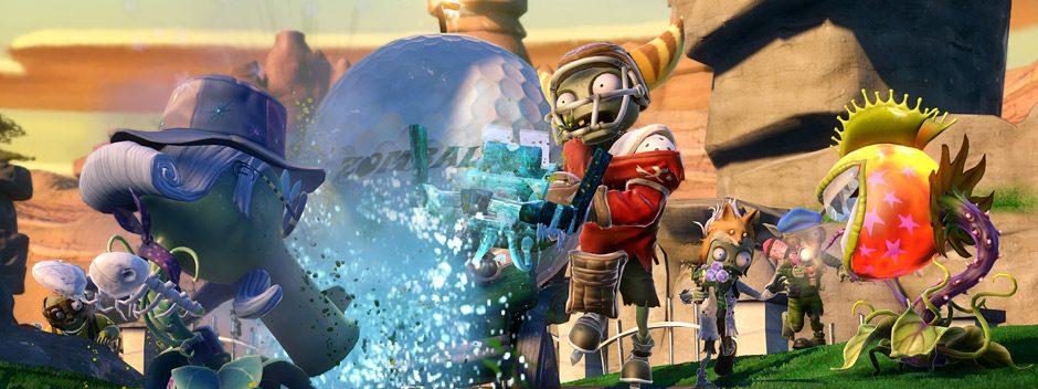 Mise à jour gratuite Plants vs. Zombies Garden Warfare : nouveaux modes de jeu et personnages