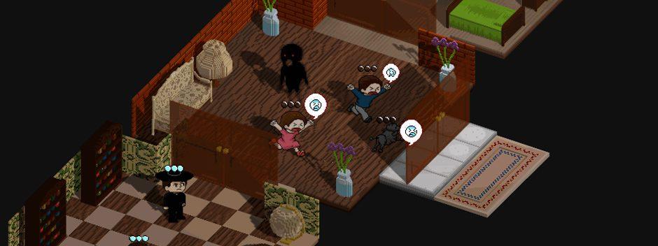 Poltergeist: A Pixelated Horror, un jeu de puzzle surnaturel prévu sur PS Vita