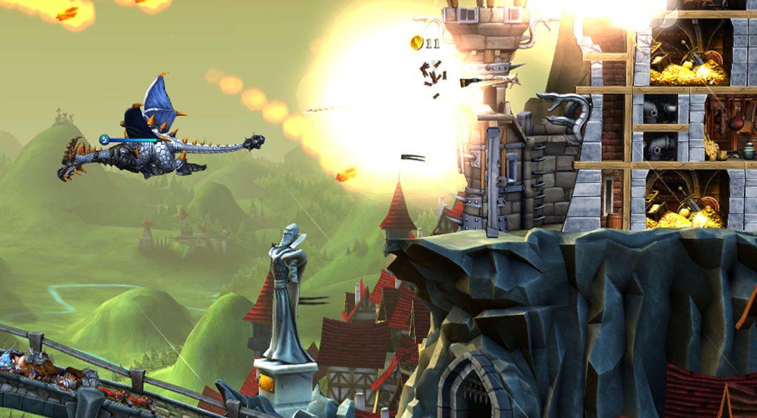 CastleStorm: Definitive Edition sort demain sur PS4, action, stratégie et castagne