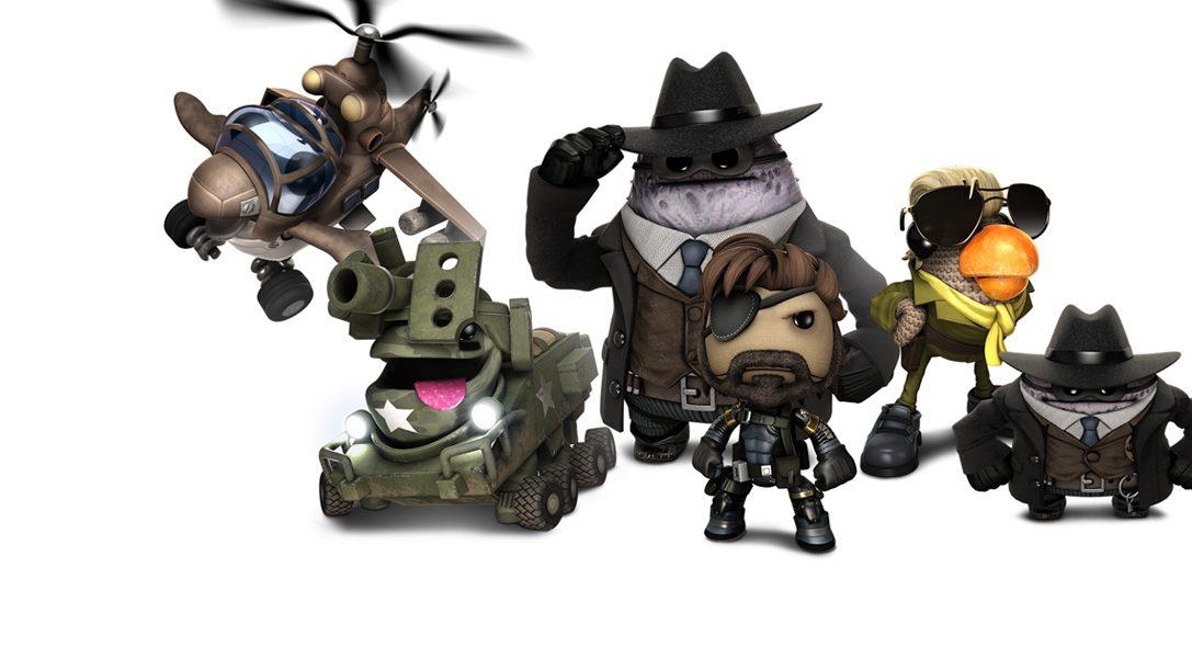 Découvrez Sackboy Galahad et Sackboy Metal Gear Solid !