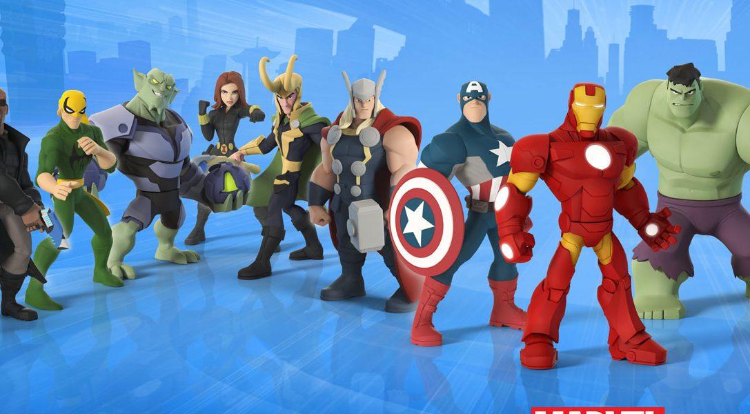 Disney Infinity 2.0 Marvel Super Heroes est disponible sur PS4 et PS3