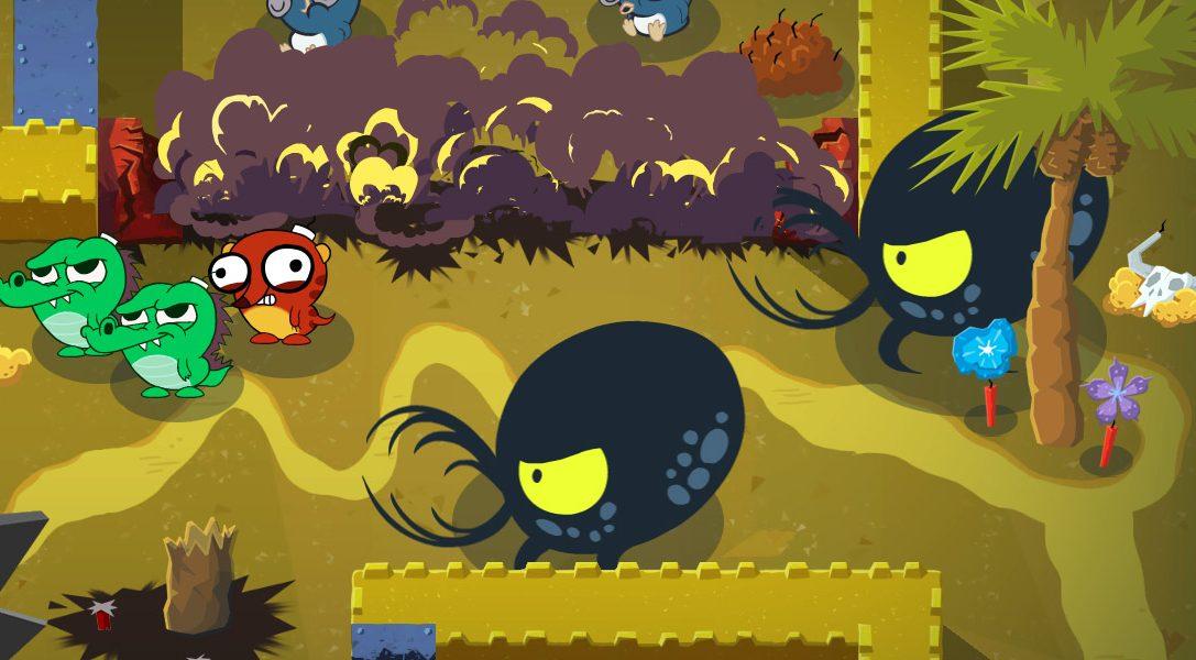 Plus d'infos sur Super Exploding Zoo, le jeu explosif barré des créateurs de Hohokum