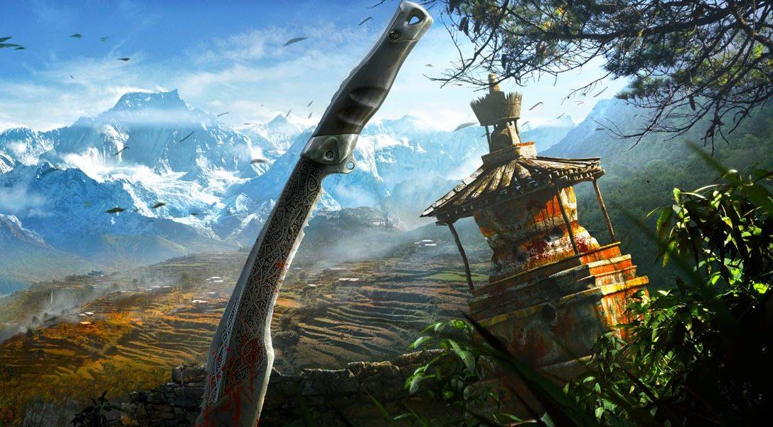 Des bundles PS4 et PS3 disponibles à la sortie de Far Cry 4, plus un nouveau trailer du jeu
