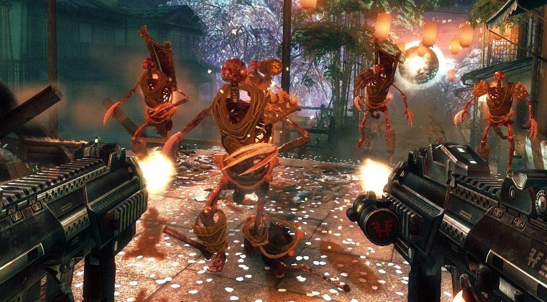 Reboot de Shadow Warrior sur PS4 : revivez ce classique jeu de tir/sabre avec son déluge d'hémoglobine en 1080p