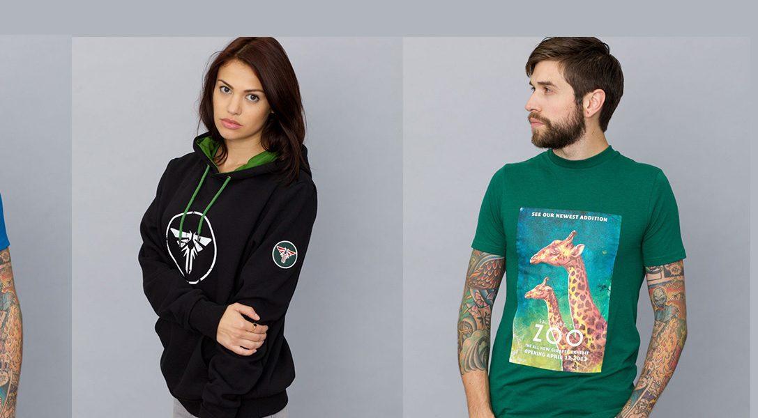 De nouveaux vêtements aux couleurs des héros PlayStation sur Insert Coin (1 offert pour 2 achetés)