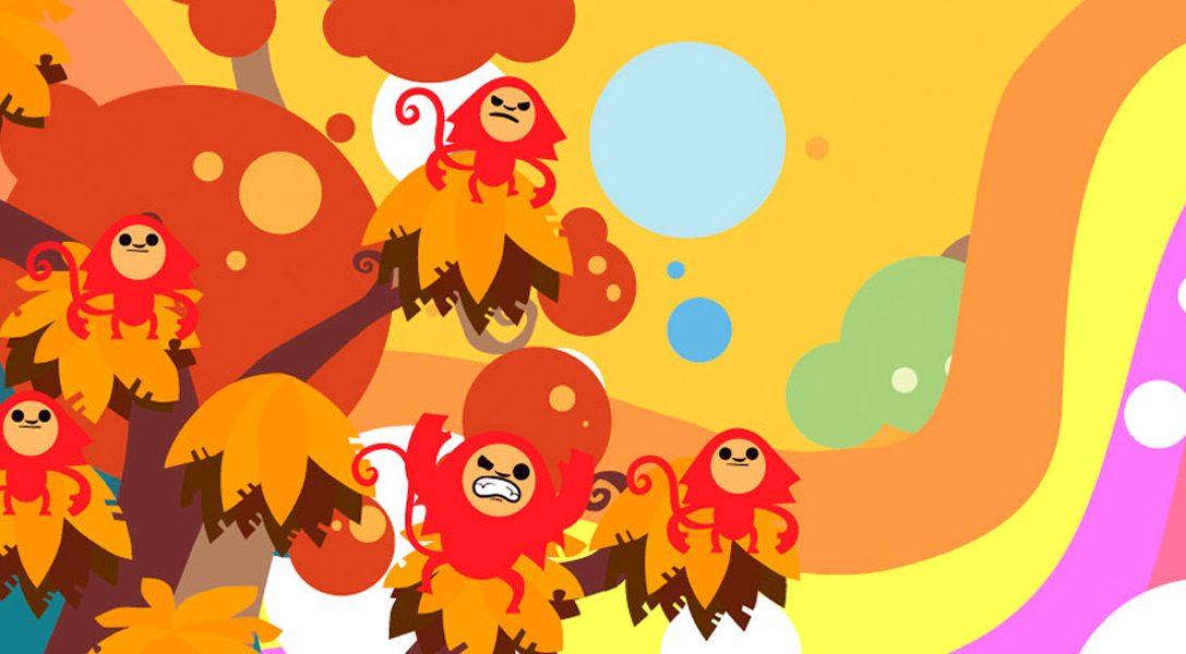 Jungle Rumble, un jeu d'action rythmé et plein de singeries prévu sur PS Vita