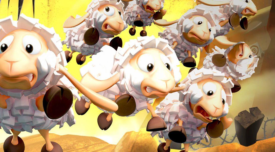 Flockers, par les créateurs de Worms, sort la semaine prochaine sur PS4