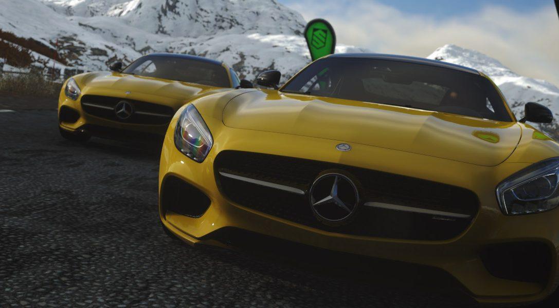 La nouvelle Mercedes-AMG GT sera disponible en exclusivité mondiale sur DRIVECLUB