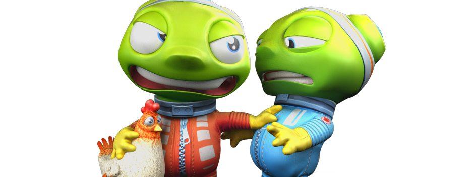 Fluster Cluck sort le mois prochain sur PS4 : chikkin party !