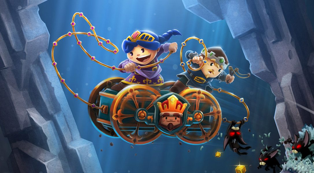 Chariot sort aujourd'hui sur PS4, enterrez le roi au fond de la mine