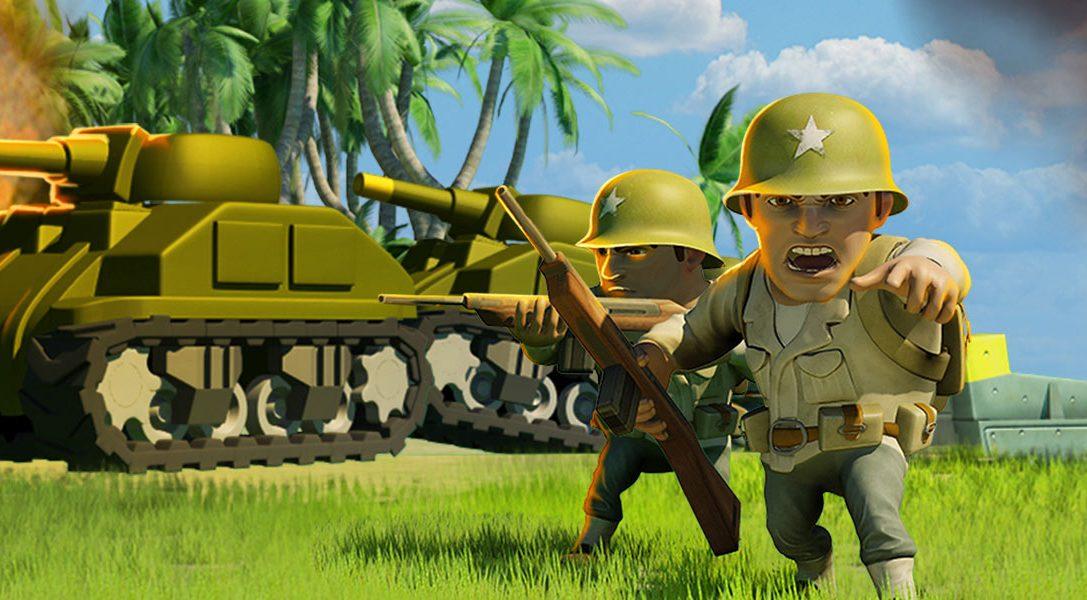 Battle Islands sort demain sur PS4, un free-to-play mêlant stratégie et action